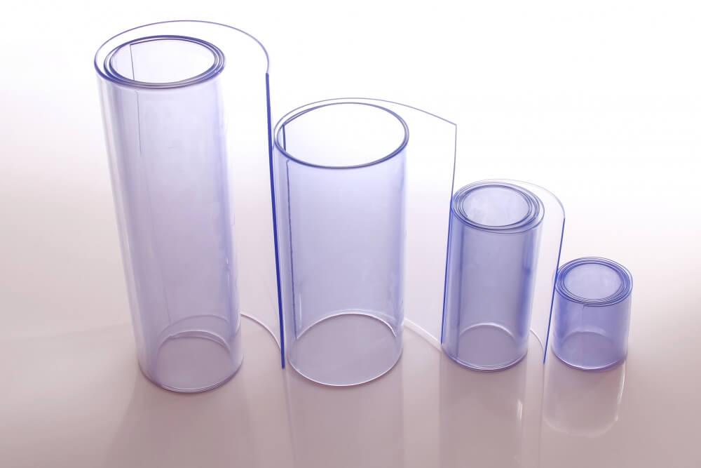 pasy pcv z folii standard rolki o szerokości 100mm, 200mm, 300mm i 400mm