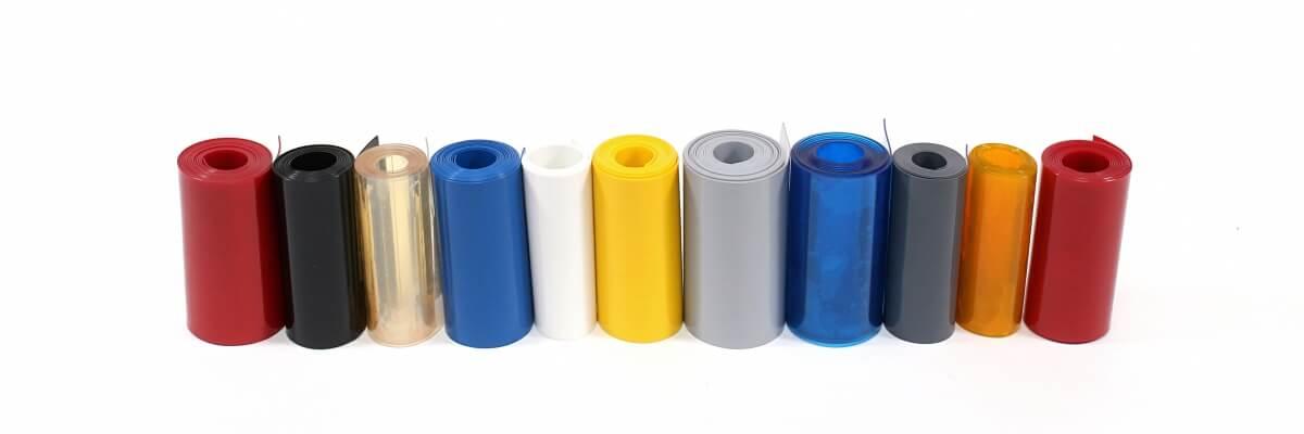 Pasy z elastycznej folii PCV w roznych kolorach