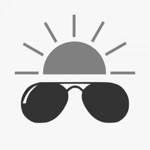 Kurtyny paskowe stosowane do ochrony przez promieniowaniem UV