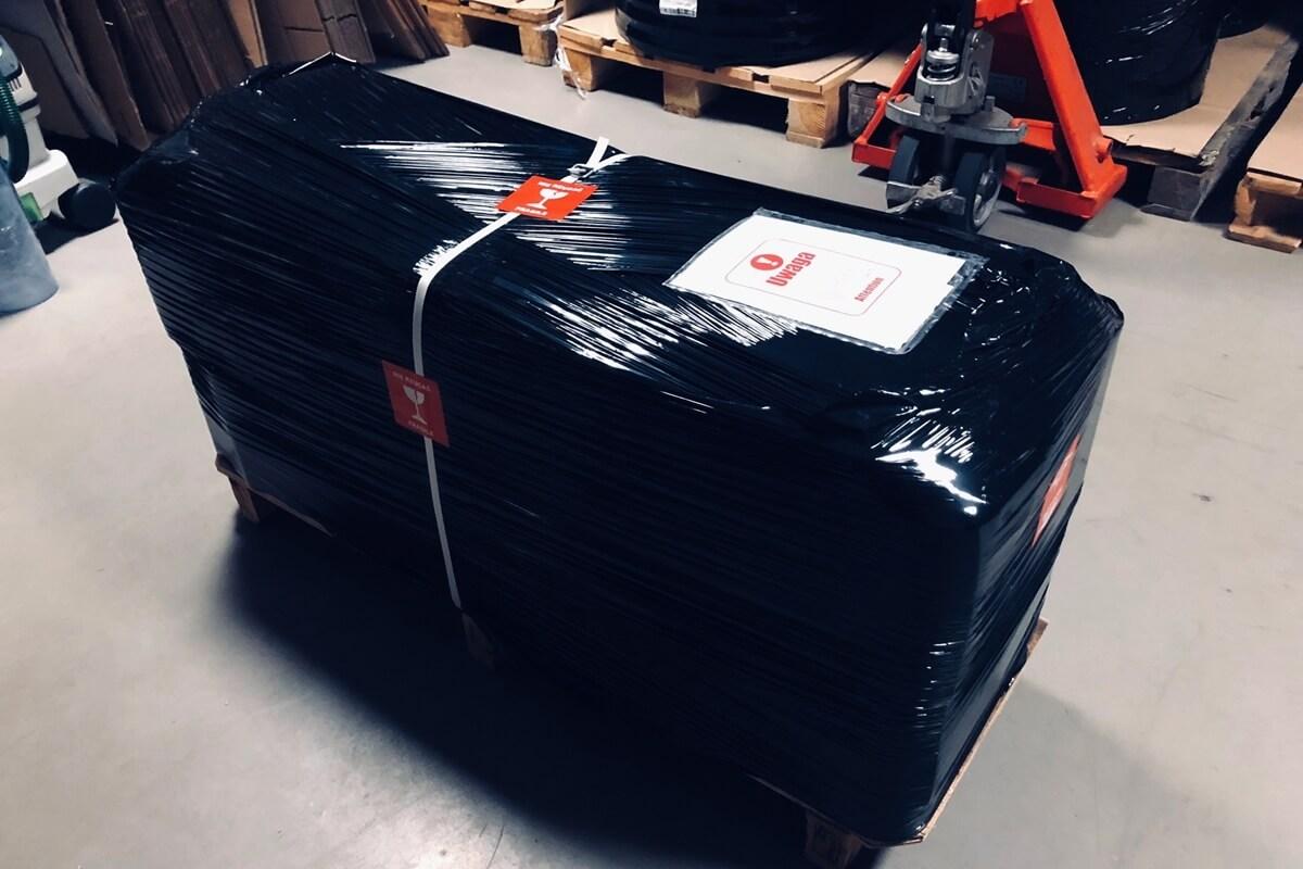 Kurtyny paskowe PCV - bezpiecznie opakowanie przesyłki