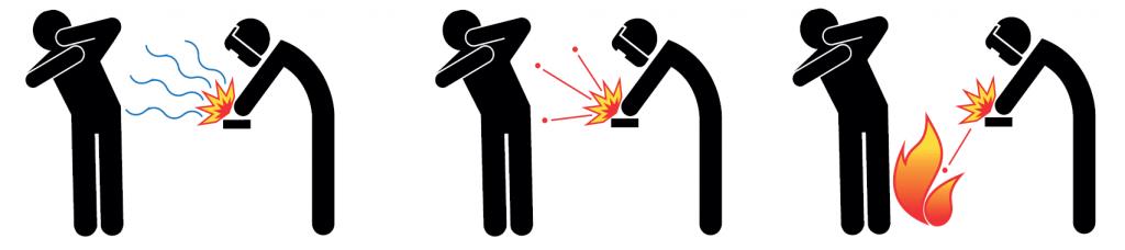 Zagrożenia podczas spawania łukiem elektrycznym