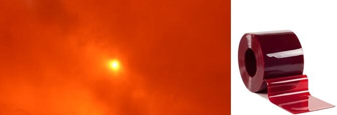 Folia spawalnicza w kolorze czerwonym