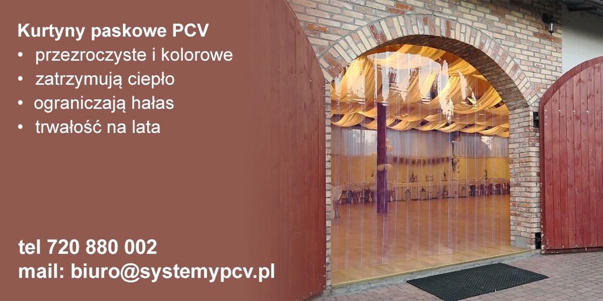 Kurtyny paskowe PCV Wrocław